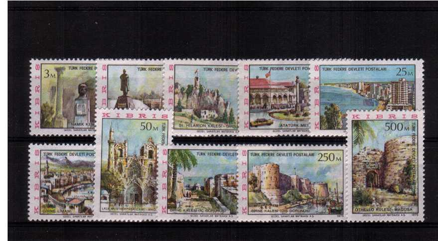 A superb unmounted mint set of ten