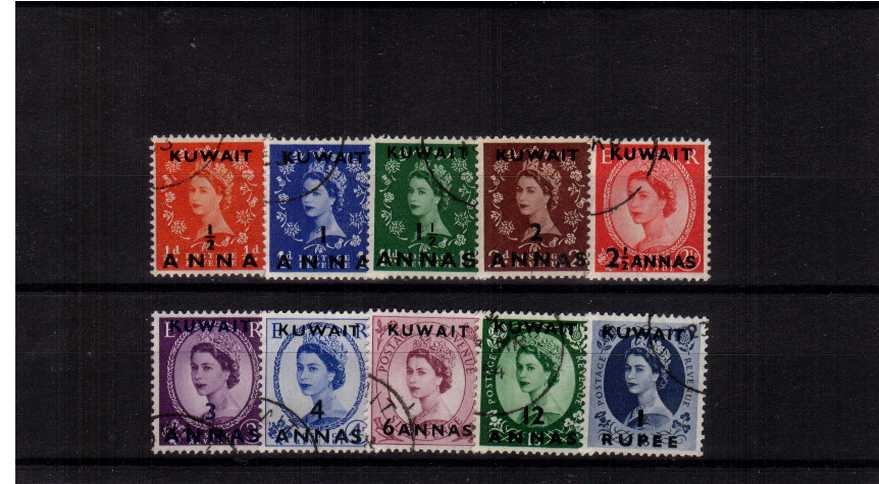 A superb fine used set of ten