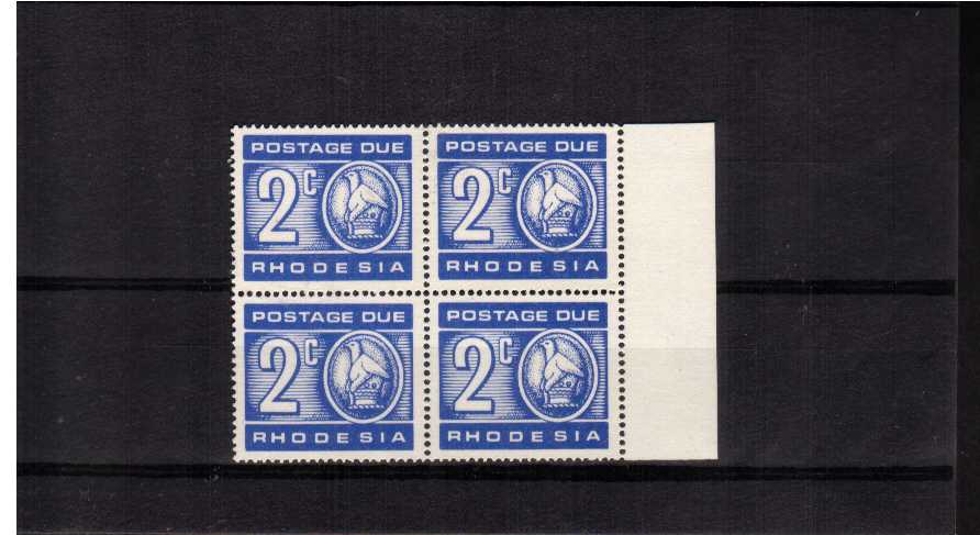Postage Due  the 2c Ultramarine with the variety