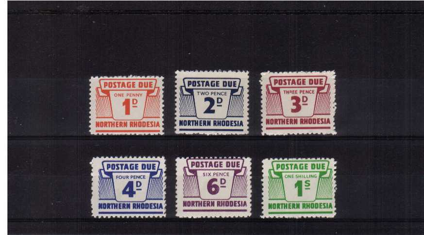 A superb unmounted mint Postage Due set of six.