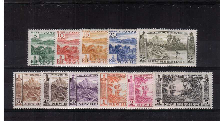 A superb unmounted mint set of thirteen.<br/><b>XUX</b>