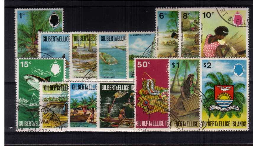 ''Local Activities'' set of fifteen superb fine used.<br><b>ZKR</b>