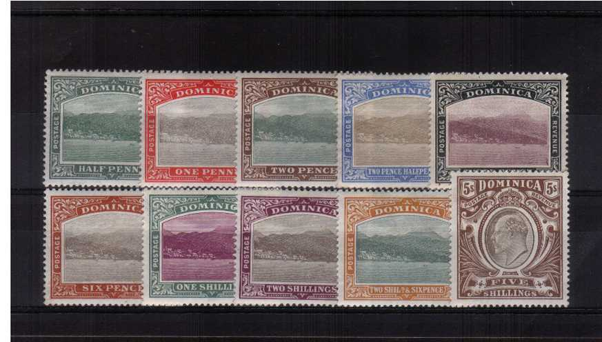 A fine very lightly mounted mint fresh complete set of ten