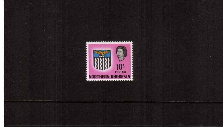 10/- Bright Magenta<br/>A superb unmounted mint single.