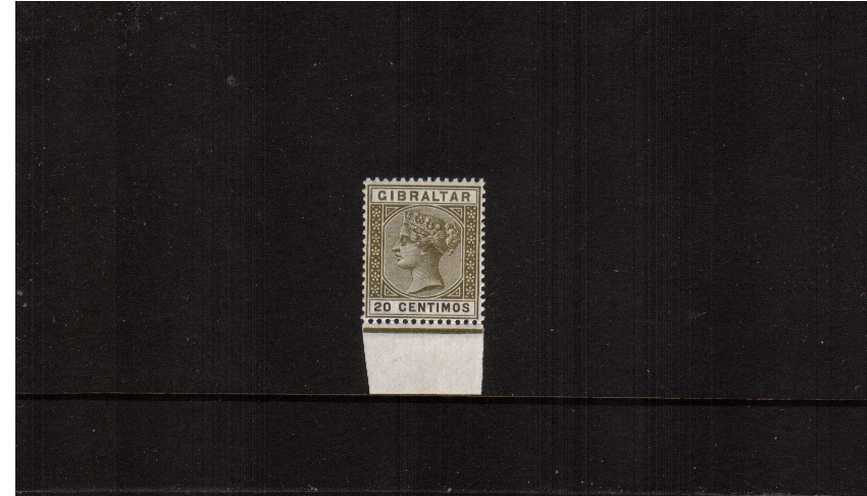 20c Olive-Green and Brown<br/>