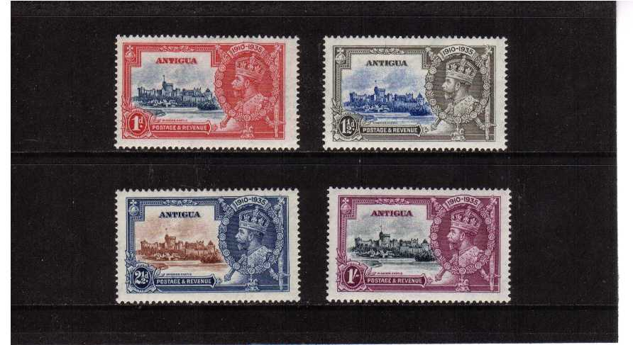 Silver Jubilee set of four lightly mounted mint.<br/><b>SEARCH CODE: 1935JUBILEE</b>
