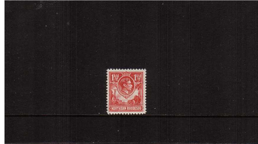 1絛 Carmine-Red superb unmounted mint definitive odd value.