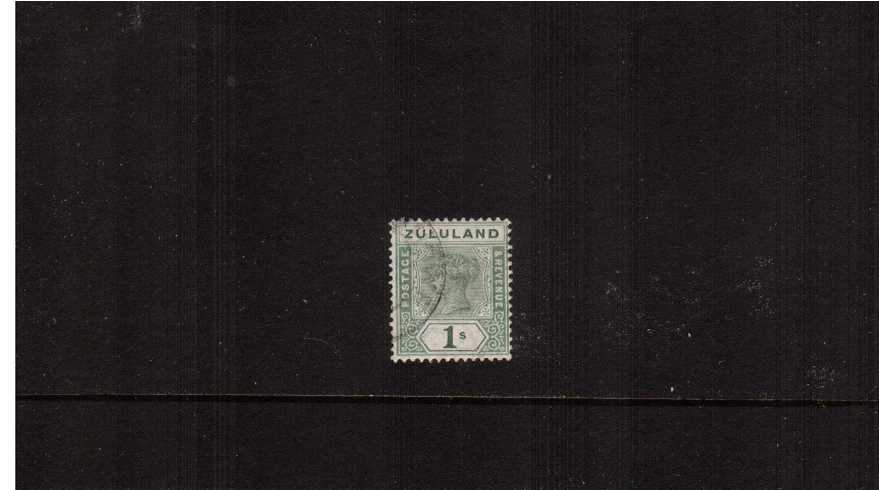 The 1/- Green superb fine used.<br><b>ZKX</b>