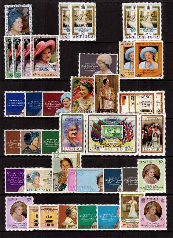 Queen Mother 80th Birthday<br/>
