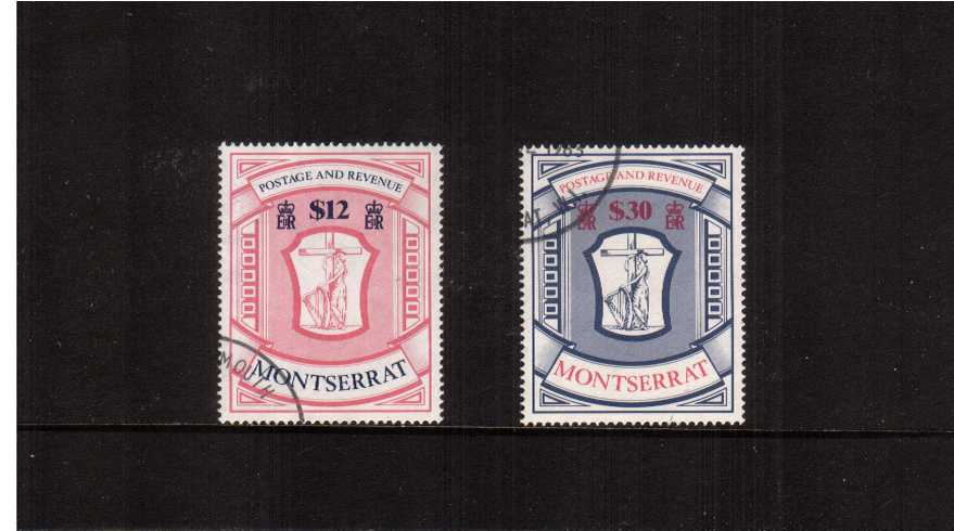 ''Arms'' High Value set of two superb fine used. Seldom seen set!