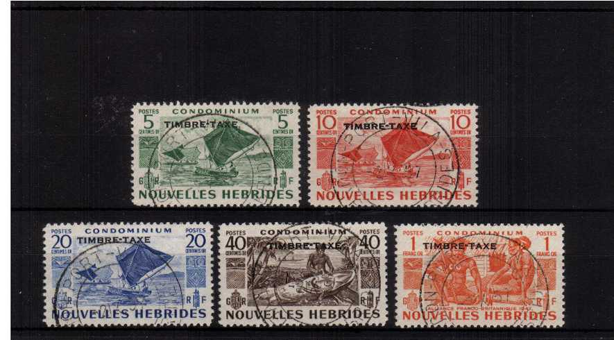 The Postage Due set of five superb fine used.