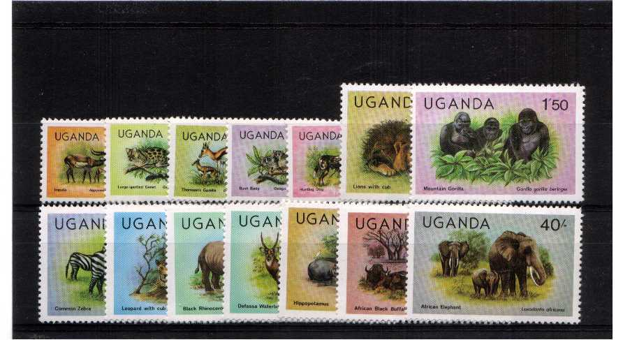 Animals - A superb unmounted mint set of fourteen.<br><b>QVQ</b>