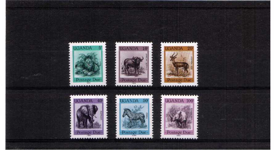 superb unmounted mint set of 6
