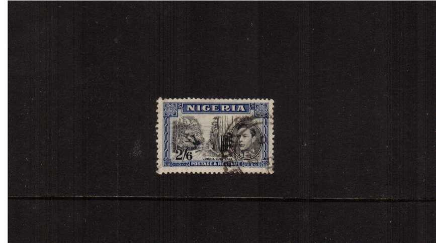 2/6d definitive odd value - perf 13x11½<br/>A good fine used single.