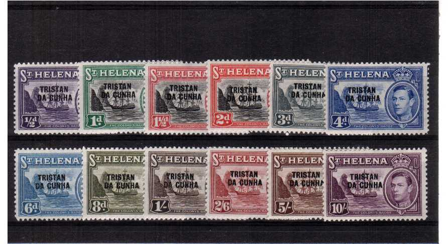 A superb unmounted mint set of twelve.<br><b>ZKZ</b>