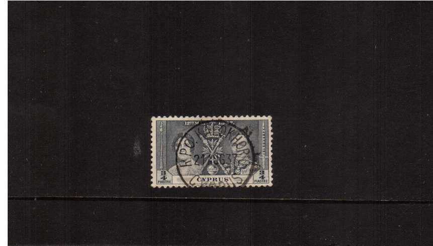 Coronation ¾pi Grey<br/>
