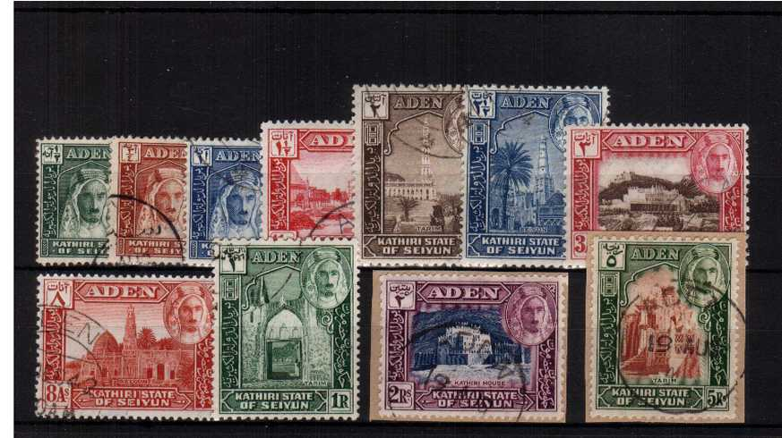 A superb fine used set of eleven with the top two on small piece. Lovely!