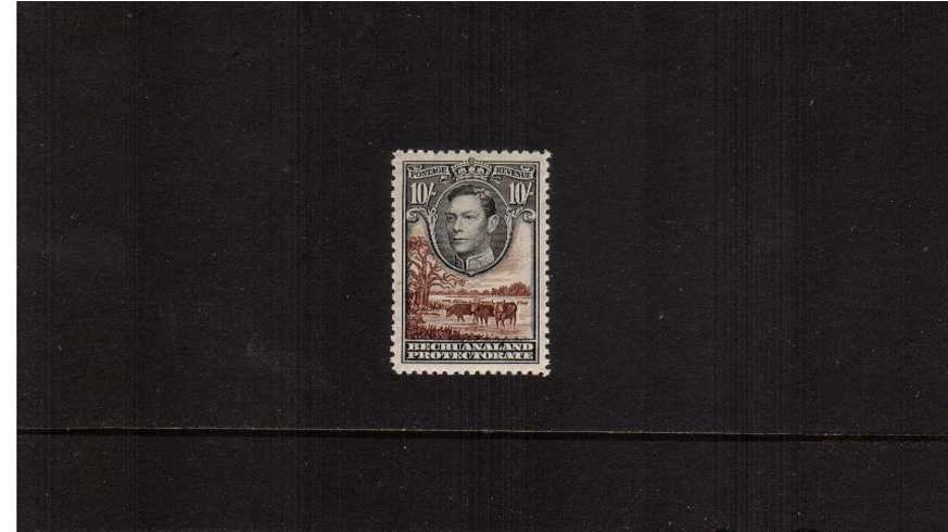 10/- definitive single superb unmounted mint.<br/><b>ZEZ</b>