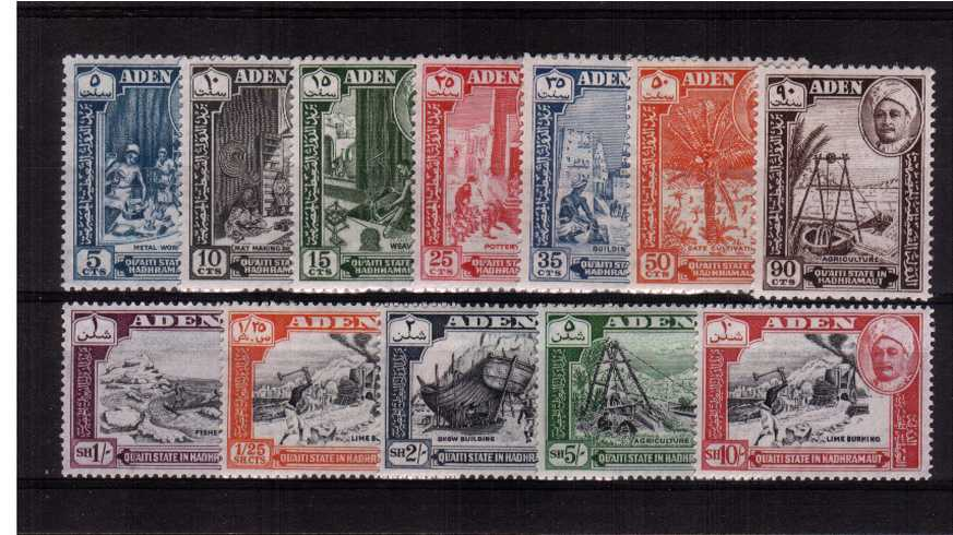 A fine lightly mounted mint set of twelve.