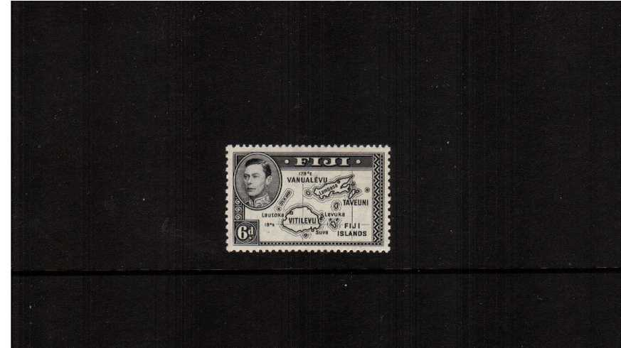 6d Black - Die 1 - a superb unmounted mint single with excellent centering. SG Cat � 