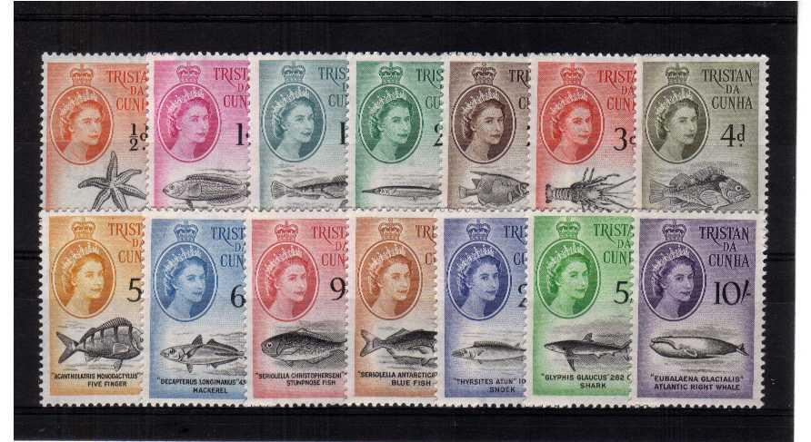 A superb unmounted mint set of fourteen.<br><b>QMQ.</b>