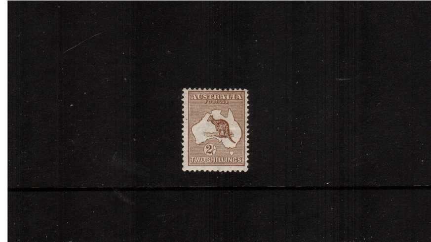 The 2/- Brown - Die II<br/>