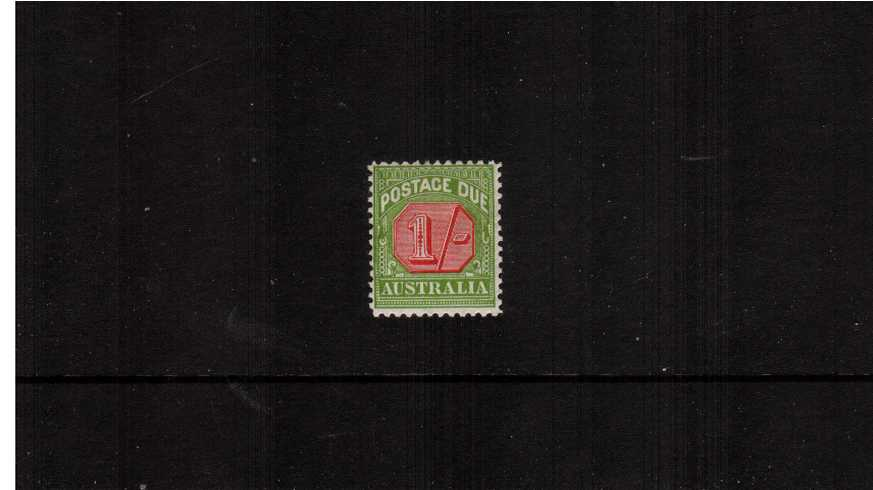 The 1/- Postage Due fine lightly mounted mint.