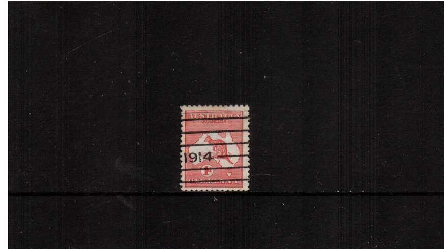 1d Red - Die II<br/>A fine used single