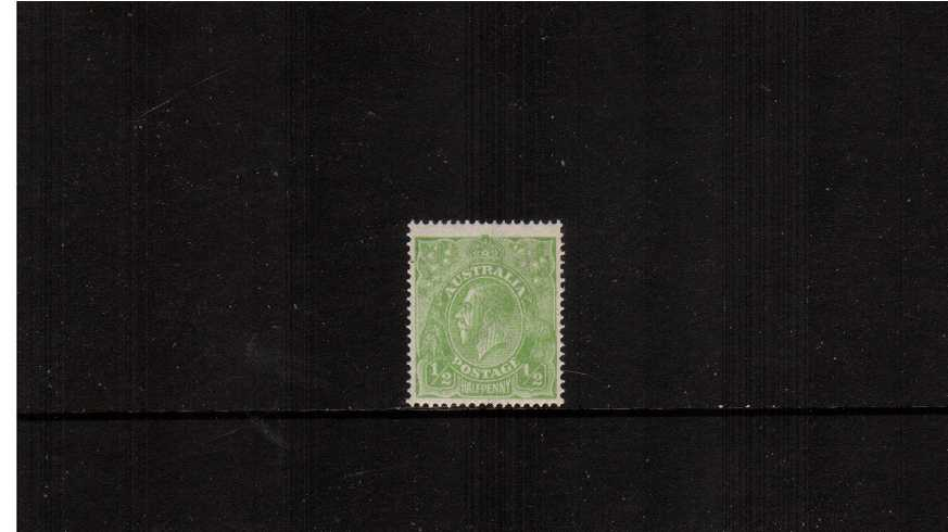 絛 Yellow-Green <br/>A superb unmounted mint single