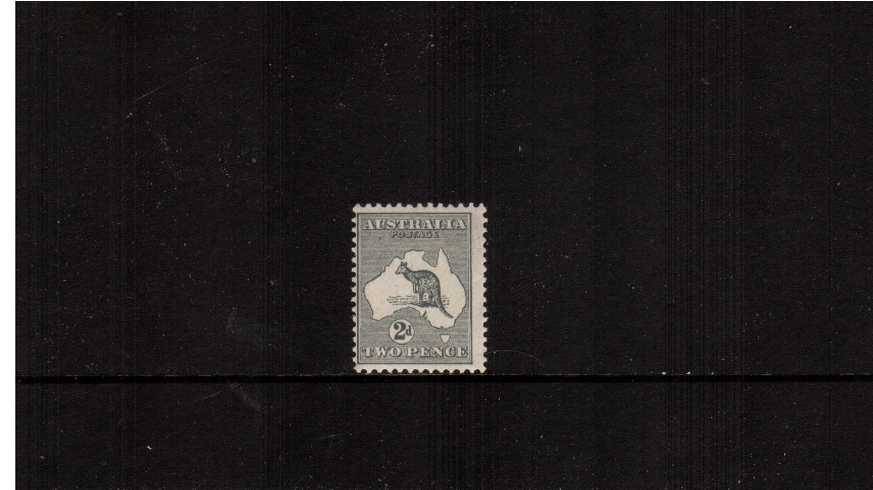 2d Grey <br/>A superb unmounted mint single