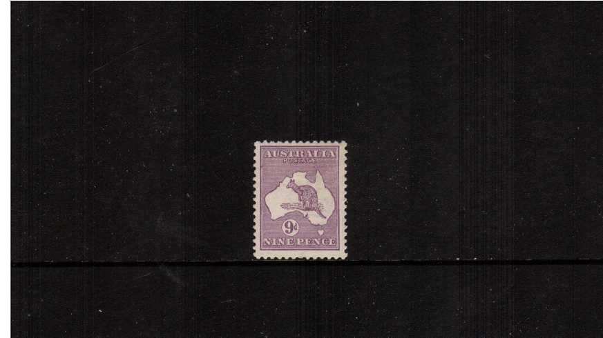 9d Violet<br/>A fine lightly mounted mint single