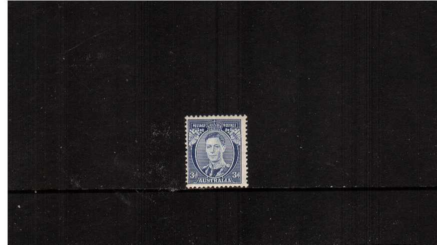 3d Blue - Die II - Chalk Surfaced paper
