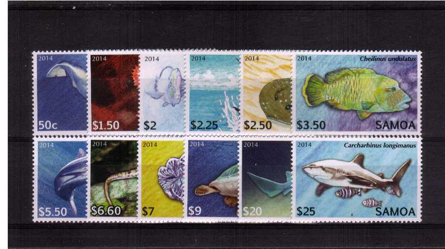 The ''Fish'' definitive set of twelve superb unmounted mint.<br><b>XBX</b>