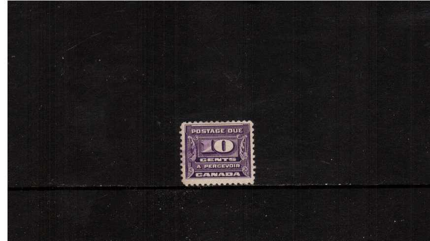 10c Violet Postage Due<br/>