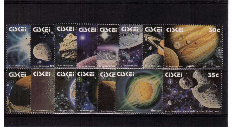 The Space Set<br/>A superb unmounted mint set of fifteen