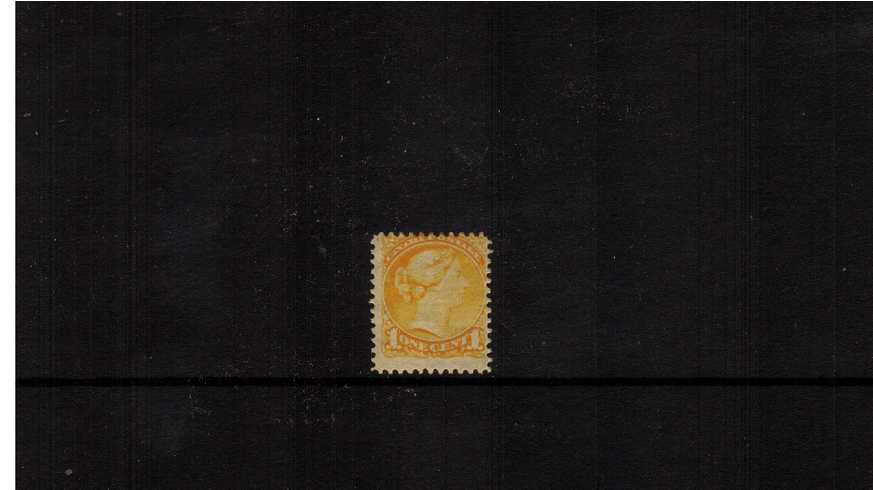 1c ''Small Queen'' Bright Yellow<br/>