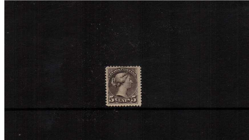 5c Brownish Grey ''Small Queen''<br/>
