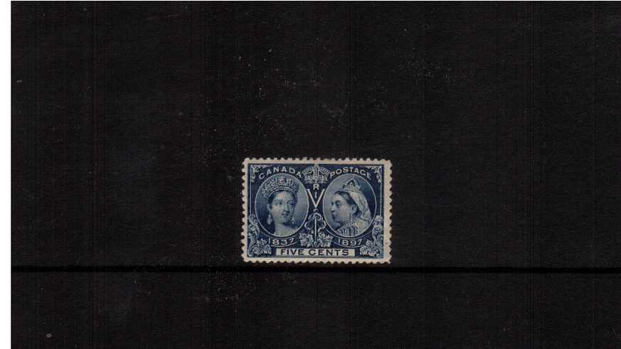 5c Deep Blue ''Queen Victoria Jubilee Issue''<br/>