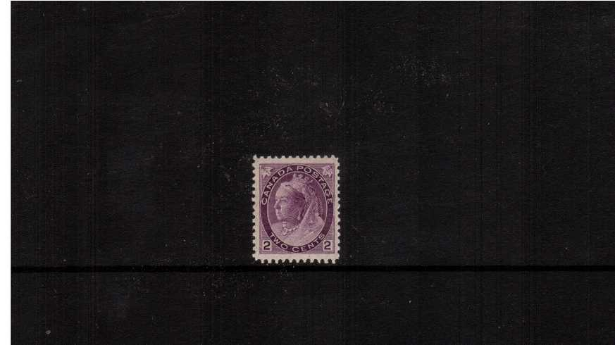 2c Violet ''Numeral Issue''<br/>A superb unmounted mint bright and fresh single. Lovely!