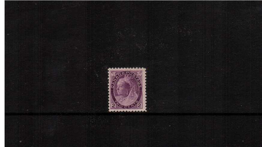 2c Reddish Purple ''Numeral Issue''<br/>A very pretty superb unmounted mint single. 