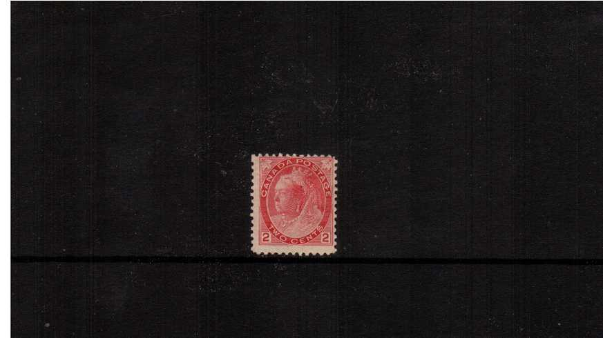 2c Rose-Carmine - Die 1a ''Numeral Issue''<br/>A good mounted mint single.