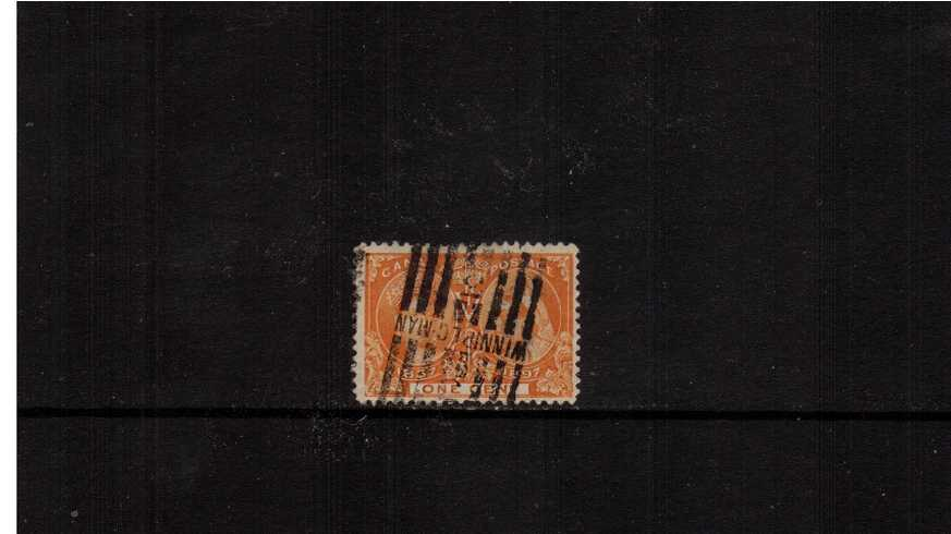 1c Orange ''Queen Victoria Jubilee Issue''<br/>