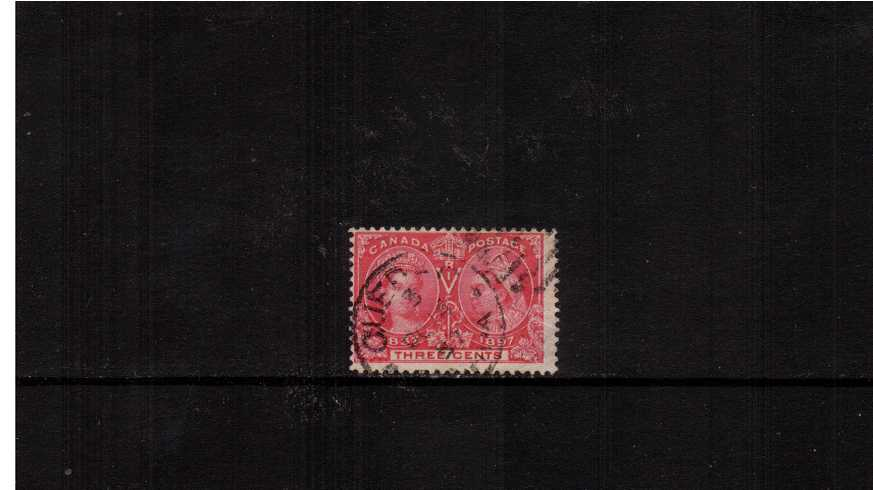 3c Carmine - ''Queen Victoria Jubilee Issue''