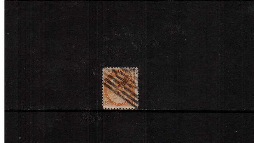 8c Brownish Orange ''Numeral Issue'' definitive single.<br/>A good used well centered stamp.<br/><b>XQX</b>