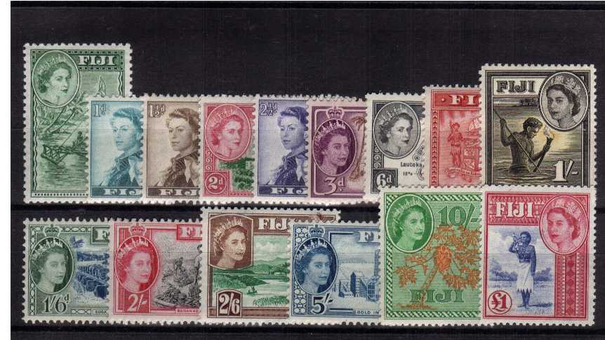 Superb unmounted mint set of fifteen.<br><b>XYX</b>