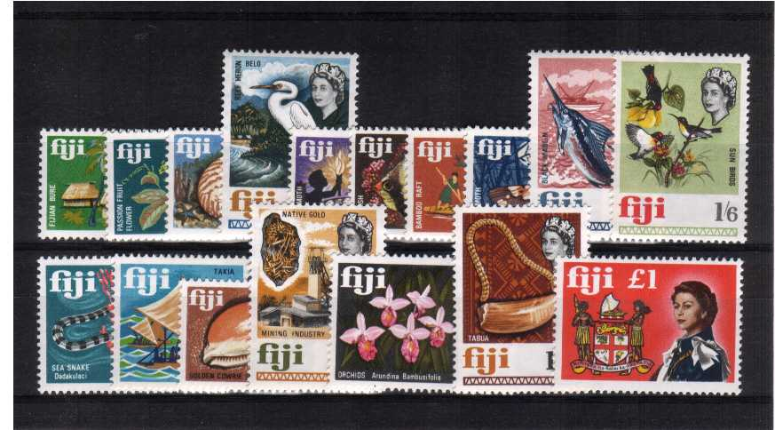 Superb unmounted mint set of seventeen.<br/><b>ZKB</b>