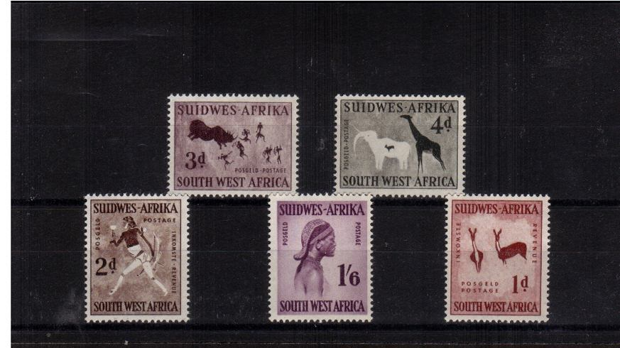 A superb unmounted mint set of five.