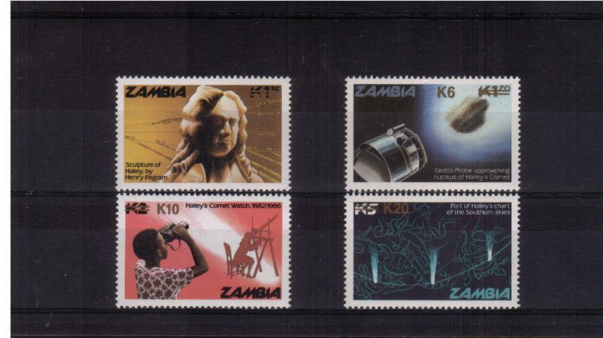 Appearance of Halley's Comet<br/>