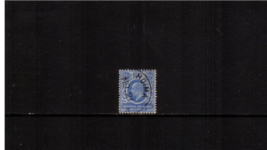 2½a Blue - Watermark Crown CA<br/>