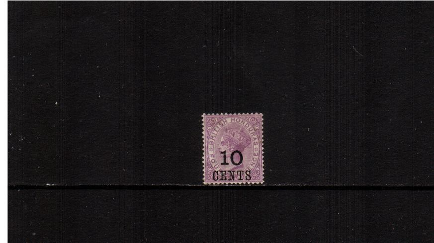 10c on 4d Mauve<br/>